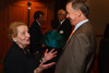 Madeleine Albright and Gov. John Hickenlooper.  The Fifteenth Annual Korbel Dinner, benefiting the Josef Korbel School of International Studies, at the Sheraton Denver Downtown Hotel in Denver, Colorado, on Wednesday, Aug. 15, 2012.<br /> Photo Steve Peterson