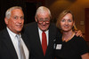 Walter Isaacson, Bob Craig, and Cathy Isaacson.  The Fifteenth Annual Korbel Dinner, benefiting the Josef Korbel School of International Studies, at the Sheraton Denver Downtown Hotel in Denver, Colorado, on Wednesday, Aug. 15, 2012.<br /> Photo Steve Peterson