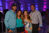 "Eric Decker, Jessie James, and Jennifer and Adam Daurio.  ""SaddleUp! and Pack Your Bags"" event, benefiting the SaddleUp! Foundation at the Mayo Aviation Hangar, Centennial Airport, in Centennial, Colorado, on Friday, Aug. 17, 2012.<br /> Photo Steve Peterson"