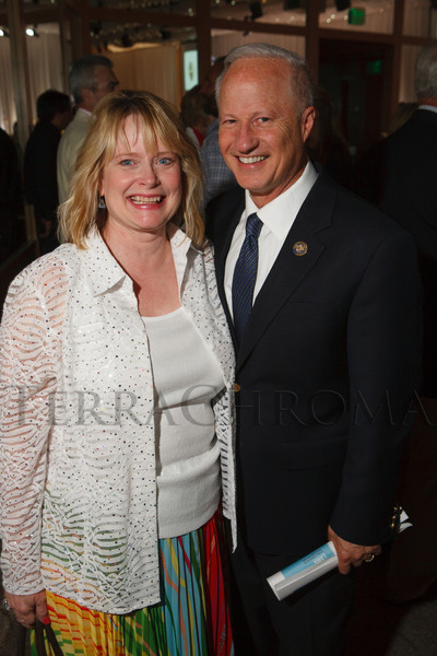 Cynthia and Mike Coffman.  Book of Mormon Gala at The Denver Center for the Performing Arts, Seawell Ballroom, in Denver, Colorado, on Friday, Aug. 24, 2012.<br /> Photo Steve Peterson