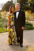 Patty and Chris (Rachel Zoe dress, Diane von Furstenberg purse) Myers.  Fete des Fleurs, benefiting the Denver Botanic Gardens, at the Denver Botanic Gardens in Denver, Colorado, on Friday, Aug. 24, 2012.<br /> Photo Steve Peterson