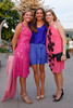 Kara Vinton (wearing Sean Couture), Jennifer Johnson (wearing Diane von Furstenberg), and Brooke Simpson (wearing Robert Rodriguez).  Fete des Fleurs, benefiting the Denver Botanic Gardens, at the Denver Botanic Gardens in Denver, Colorado, on Friday, Aug. 24, 2012.<br /> Photo Steve Peterson