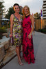 Kelly Eisinger (Roberto Cavalli) and Jennifer Marsico Milo (Halston).  Fete des Fleurs, benefiting the Denver Botanic Gardens, at the Denver Botanic Gardens in Denver, Colorado, on Friday, Aug. 24, 2012.<br /> Photo Steve Peterson