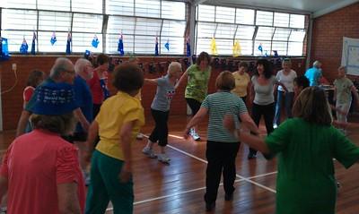 Circles fun australia day