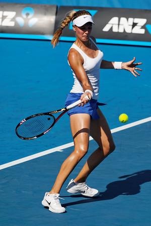 01-14. Eugenie Bouchard - Australian Open 2012 Juniors Dag 5- Foto 01-14