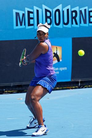 01-03. Taylor Townsend - Australian Open 2012 Juniors Dag 5- Foto 01-03