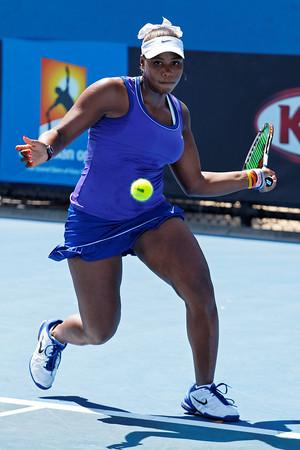 01-01. Taylor Townsend - Australian Open 2012 Juniors Dag 5- Foto 01-01