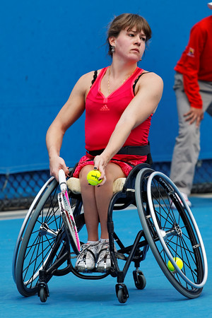 04. Annick Sevenans - Australian Open 2012 Wheelchair - Foto 04