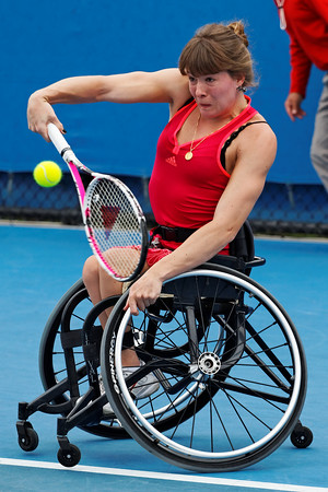 05. Annick Sevenans - Australian Open 2012 Wheelchair - Foto 05