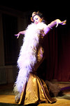 BURLESQUE A-PADES Starring ANGIE PONTANI on Friday, October 19, 2012 at the SOHO Playhouse, 15 Vandam Street between Varick and Sixth Avenue, New York City, NY (Photos by Christopher London ©2012 ManhattanSociety.com)