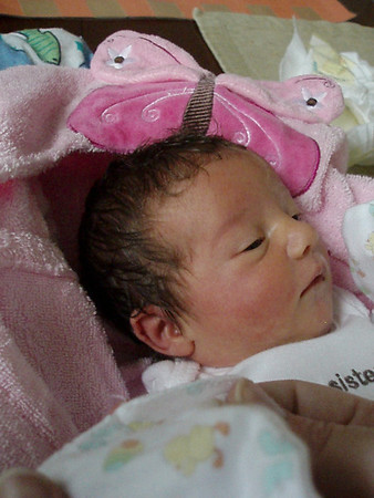 Baby Evangelynn's Bath