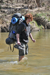 2011 Backpacking at Dinosaur Valley
