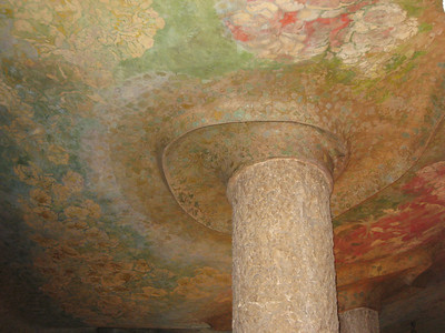 Some of the ceiling detail in La Pedrera