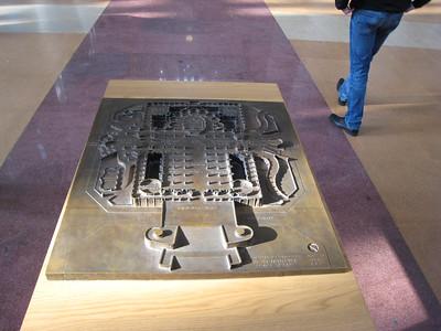 Gaudi's layout.