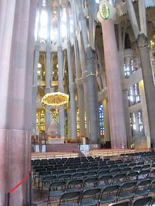 Inside the Sagrada
