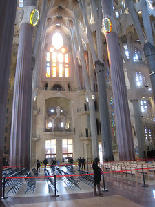 Inside the Sagrada