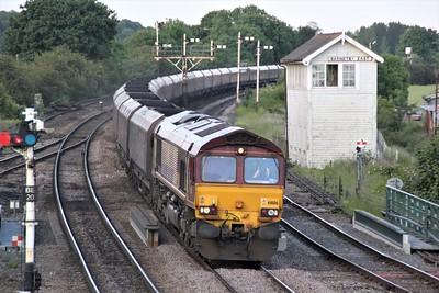 66186 1919/6B19 Immingham-West Burton passes Barnetby