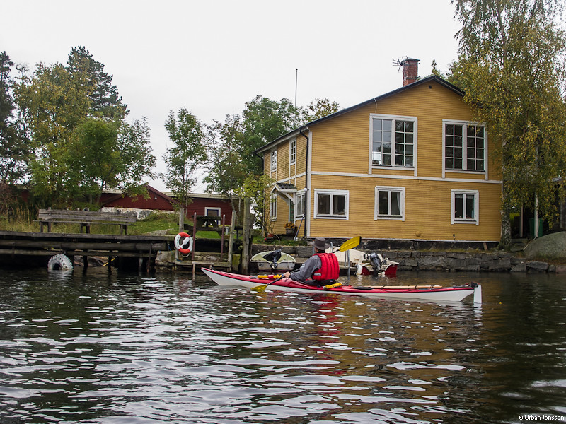 Ett lite annorlunda hus på Vändvikören