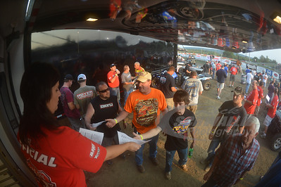 Lucas Oil Late Model Dirt Series Official - Ashley Schwallie @ Batesville Motor Speedway