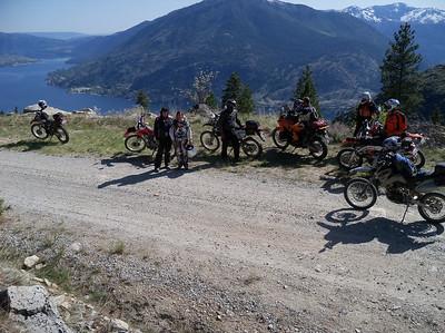 Beebe Bridge Camp & Ride 2012, days 1 thru 3