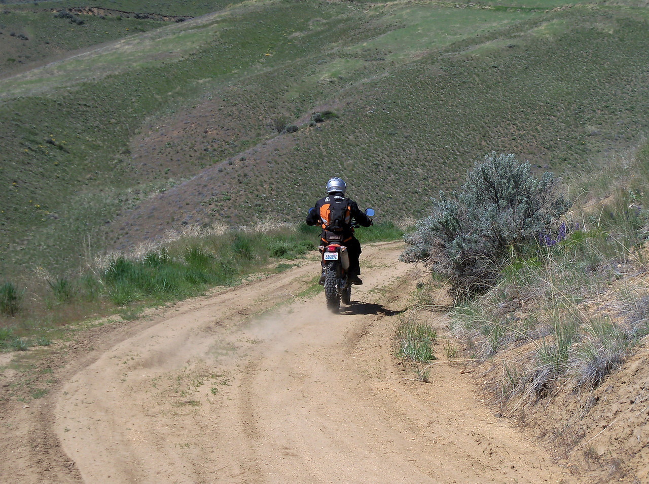 Steve and his KTM 530 EXC..