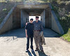 Marin Headlands: Benjamin and Grandpa Edmund at Battery Townsley