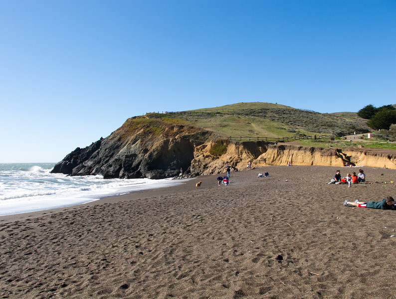 Marin Headlands: Rodeo Beach