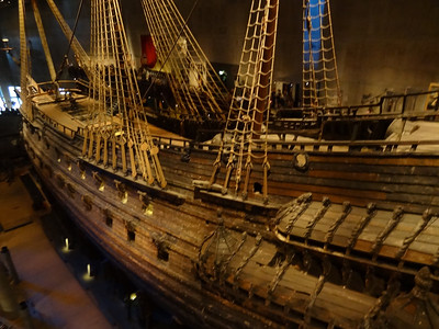 Stockholm, Sweden - Vasa Museum - This ship sunk on it's maiden voyage and was recovered after about 400 years.