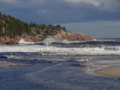 Angry Sea - Day Four - Cape Breton Cabot Trail Tour