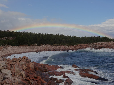The Rainbow - God's Promise - Day Four - Cape Breton Cabot Trail Tour