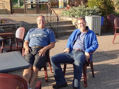 Vince and Jeff - Baddeck Nova Scotia