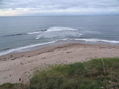 The Beach at our destination - Day Three - Cape Breton Cabot Trail Tour