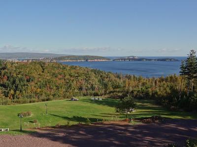 Keltic Lodge View - Day Five - Cape Breton Cabot Trail Tour
