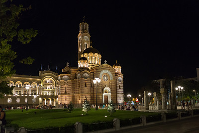 'Cathedral of Christ the Saviour' in Banja Luka.