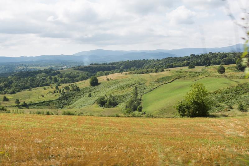 Bosnian countryside.