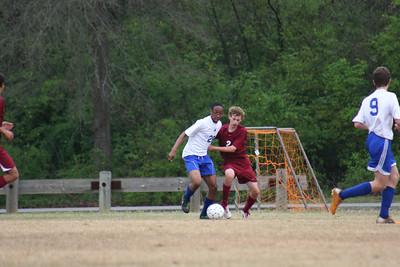 Boys JV Blue Coosa Soccer Tournament (03/17/12)