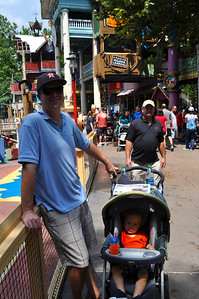 Silver Dollar city...Marshall was in the zone