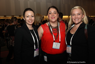 Tracy Jaques and Leah Perri (BCEC), Jessie Newell (RICC)