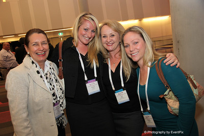 Beth McDonald (BCEC), Kathryn Creech (Moreton Hire), Julie McGraw and Michelle Glasson (GEMS Event Management)