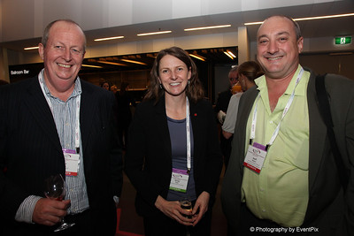 Phil Dally (Triathlon NSW), Kirsty Kelly (Planning Institute of Australia), Geoff Barbaro (ACPSEM)