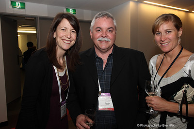 Sophy Edmonds (Edmonds Marketing), Damian Kelly (CEDA), Heidi Heming (Conventions & Incentines NZ)