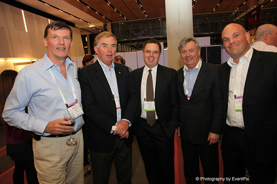 AQlfred Merse (Federal Group Tasmania), Geoff Squibb (Optometrists Association Australia), Michael Schaper (ACCC), Tony Steven (Australian Medical Association, TAS) Ben Kearney (Australian Newsagents Federation)
