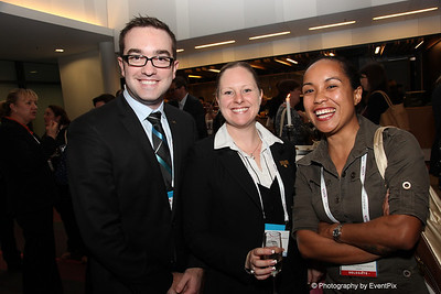 Nathan Tefler and Jackie Klus (Sofitel Luxury Hotels), Mea Willie (Australia-Papua New Guinea Business Council)
