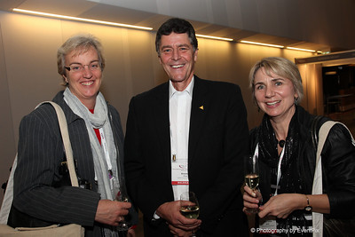 Kathryn Edwards (The Association Specialists), Brendon Prout (Canberra Convention Bureau), Marie-Louise Rankin (Statistical Society of Australia)
