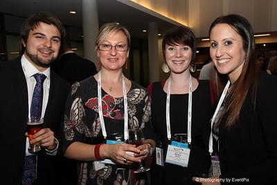 Zac Hancock, Larissa Daniljchenko and Martha Wakelin (BCEC), Sally Pulford (RICC)