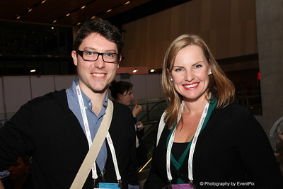 James Blundell (Delaware Services), Abby Clemence (infinity Sponsorship)