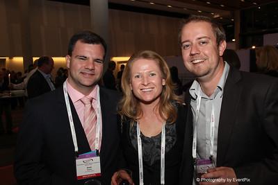 Brett Towers (Luna Park Syd), Terri-Ann Mikulic (Australian Turf Club), Brad Booth (Moreton Hire)