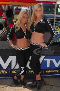 MavTV Models - Kelli Bastain and Sacha Sturgill