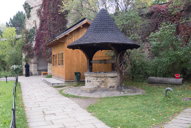 Moldovița Monastery, Vatra Moldoviței, Suceava, Well