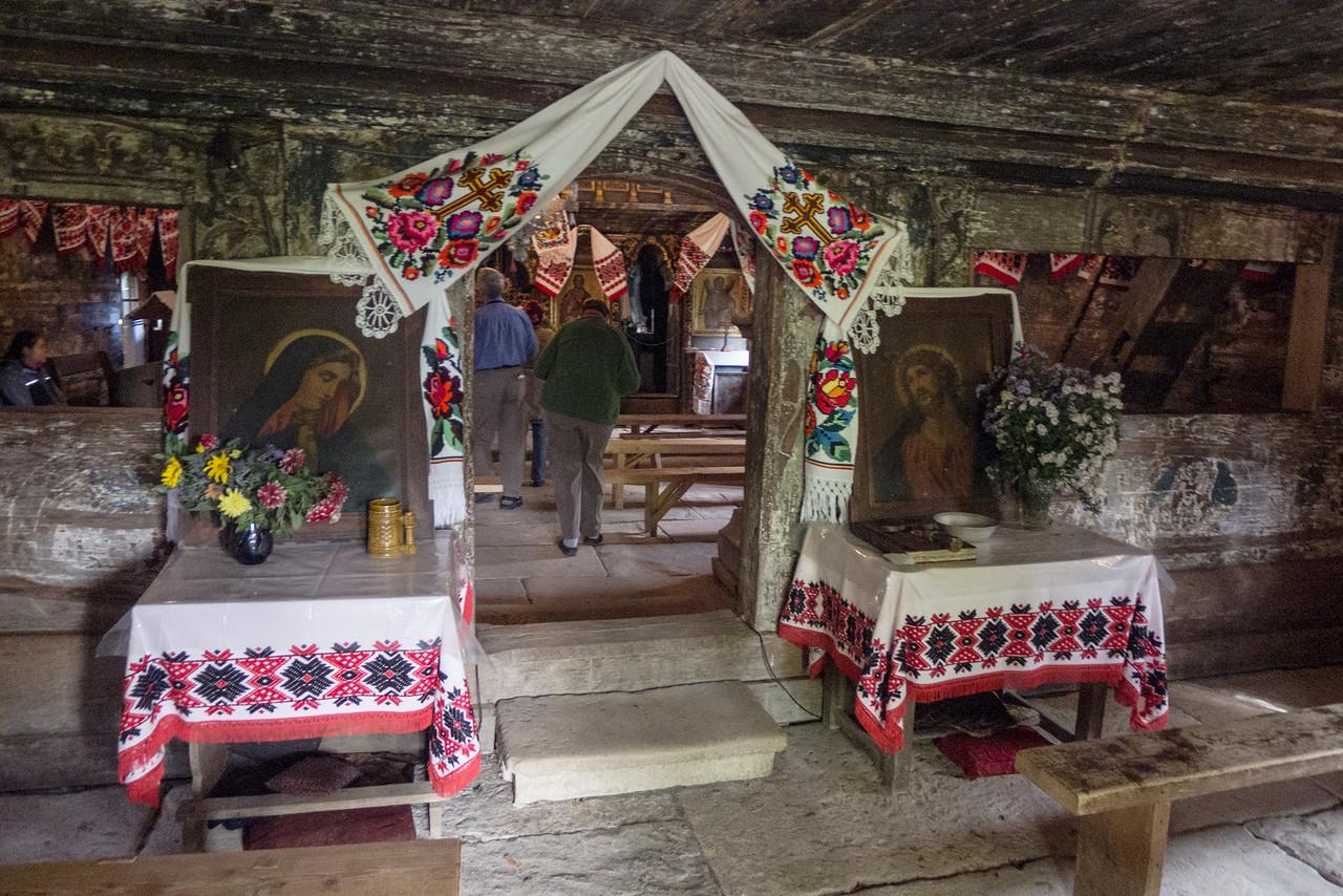 Lemn Wooden Church, Deseşti, Maramures